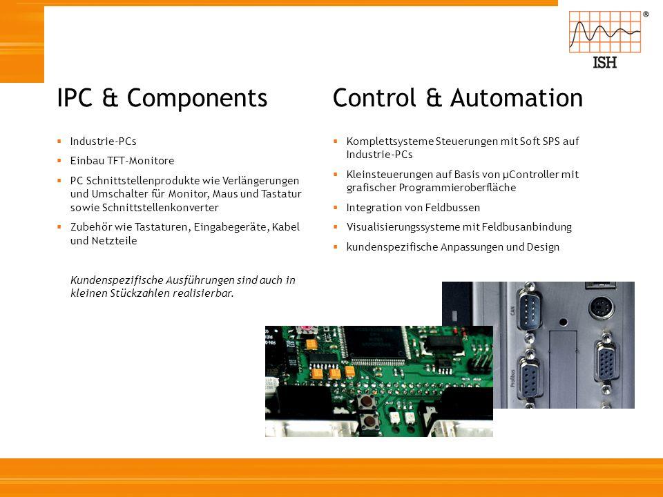 Industrie-PCs Einbau TFT-Monitore PC Schnittstellenprodukte wie Verlängerungen und Umschalter für Monitor, Maus und Tastatur sowie Schnittstellenkonve