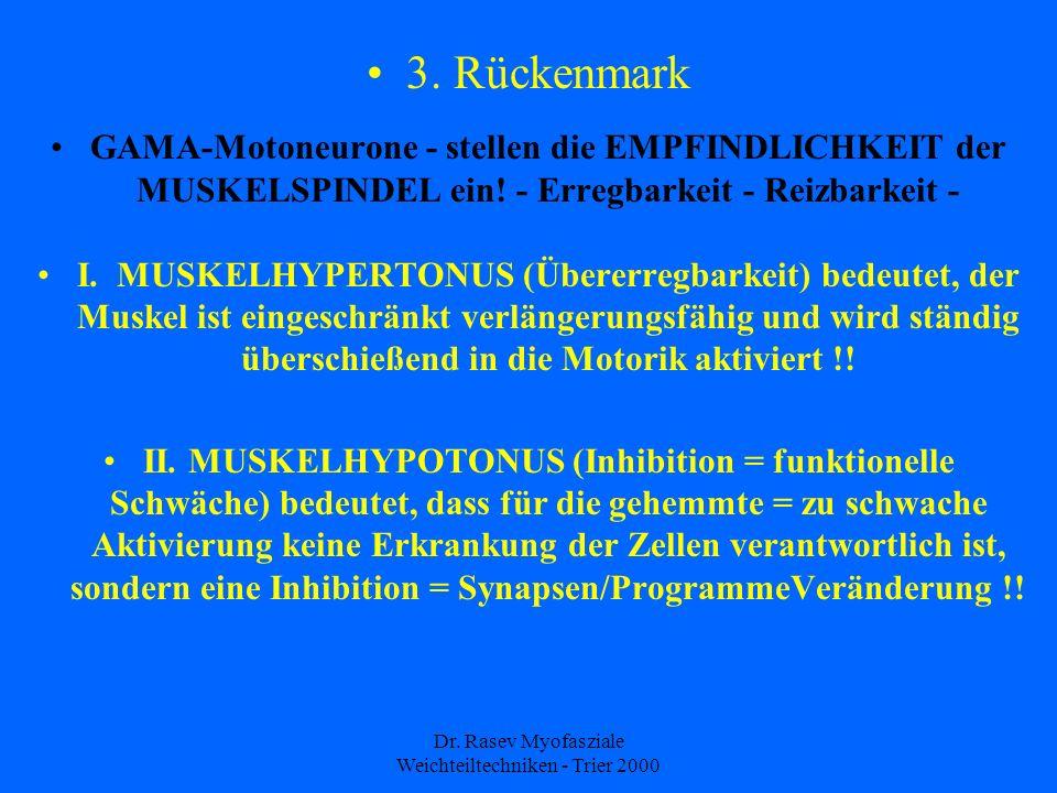 Dr.Rasev Myofasziale Weichteiltechniken - Trier 2000 3.