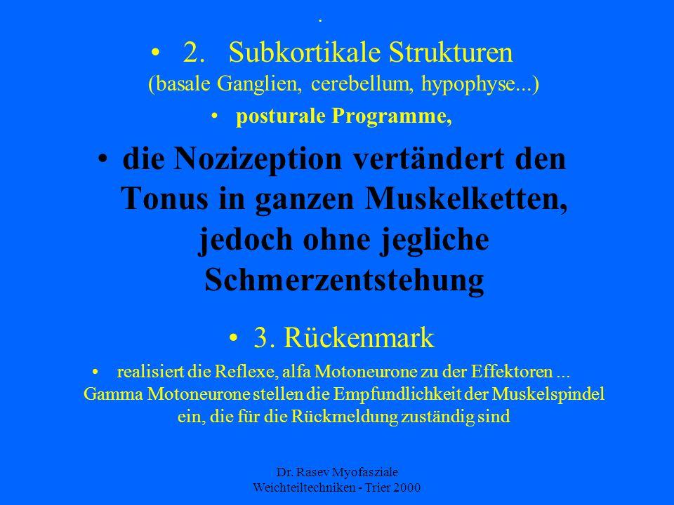 Dr.Rasev Myofasziale Weichteiltechniken - Trier 2000 2.