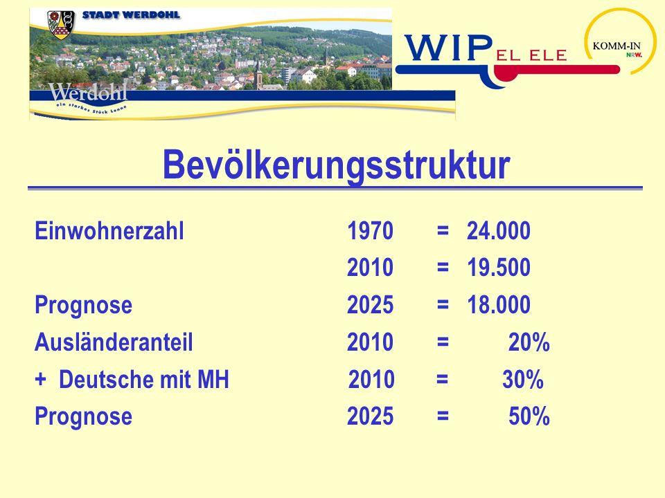 WIP - Monitoring Geförderte Projekte Erstellung eines Integrationsmonitorings (2009-2010) - Messung durch Indikatoren in Handlungsfeldern wie Wohnen und Umfeld, Bildung, Arbeitsmarkt, soziale Sicherheit, interkulturelle Öffnung von Verwaltung und Vereinen usw.