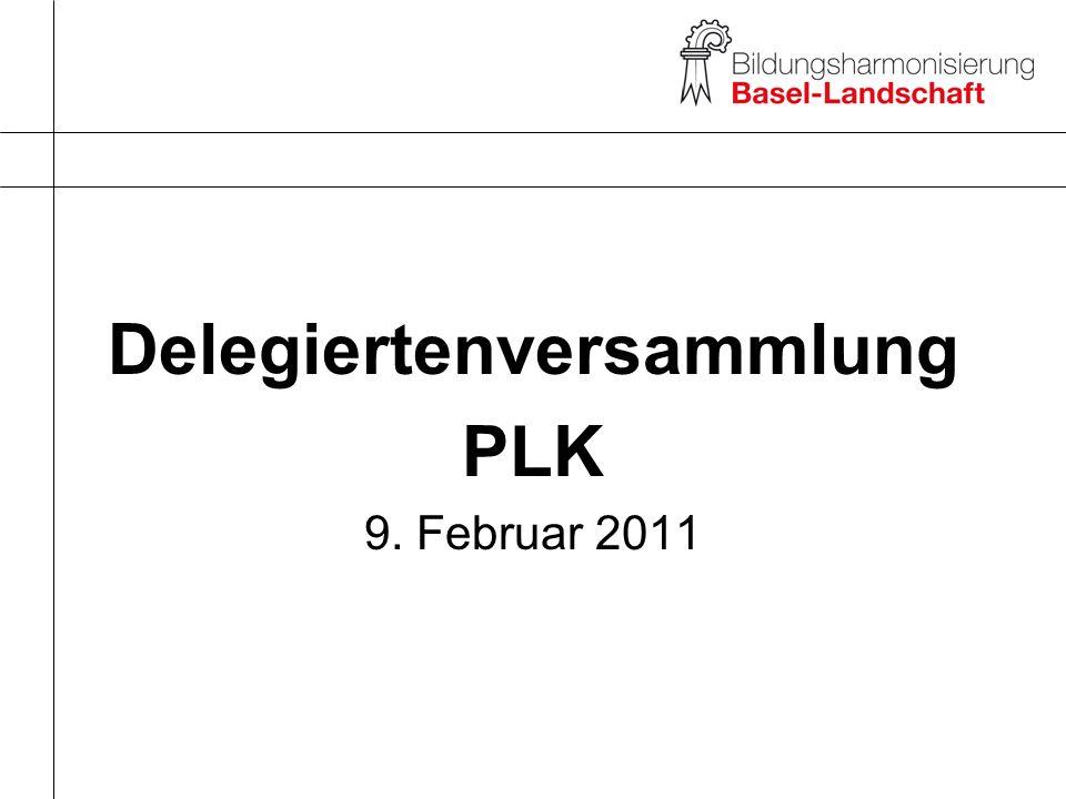 Delegiertenversammlung PLK 9. Februar 2011
