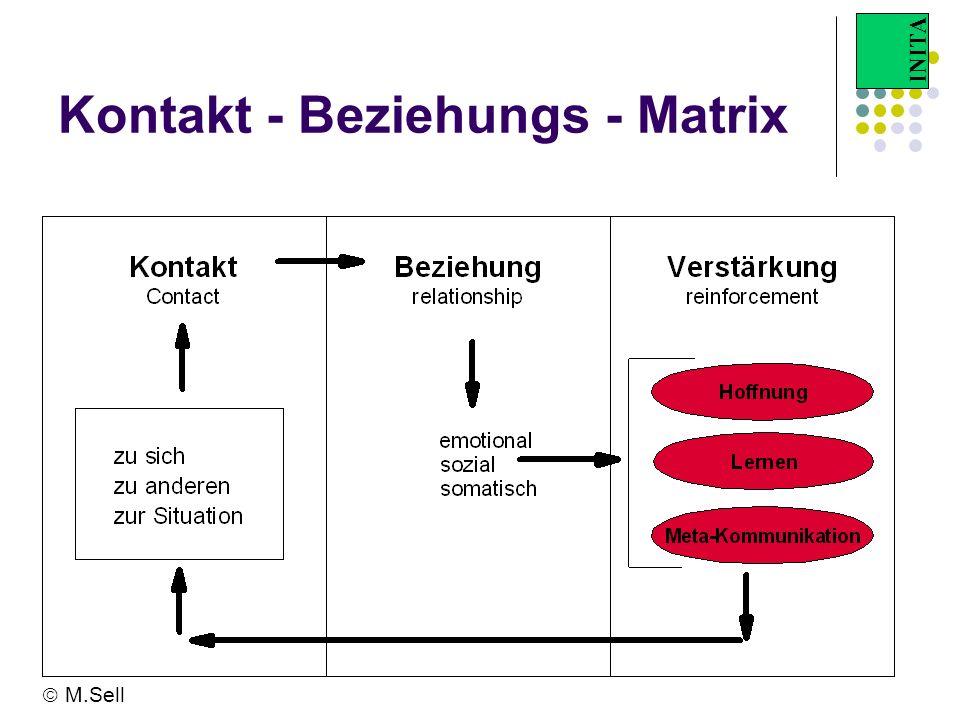 INITA Kontakt - Beziehungs - Matrix M.Sell