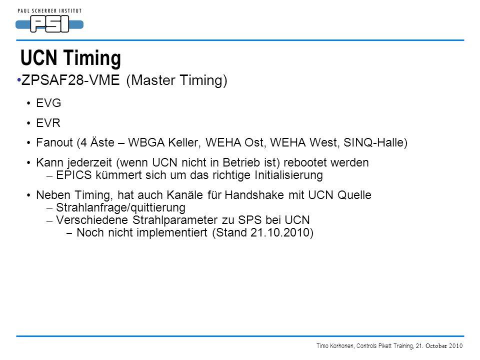 Timo Korhonen, Controls Pikett Training, 21.