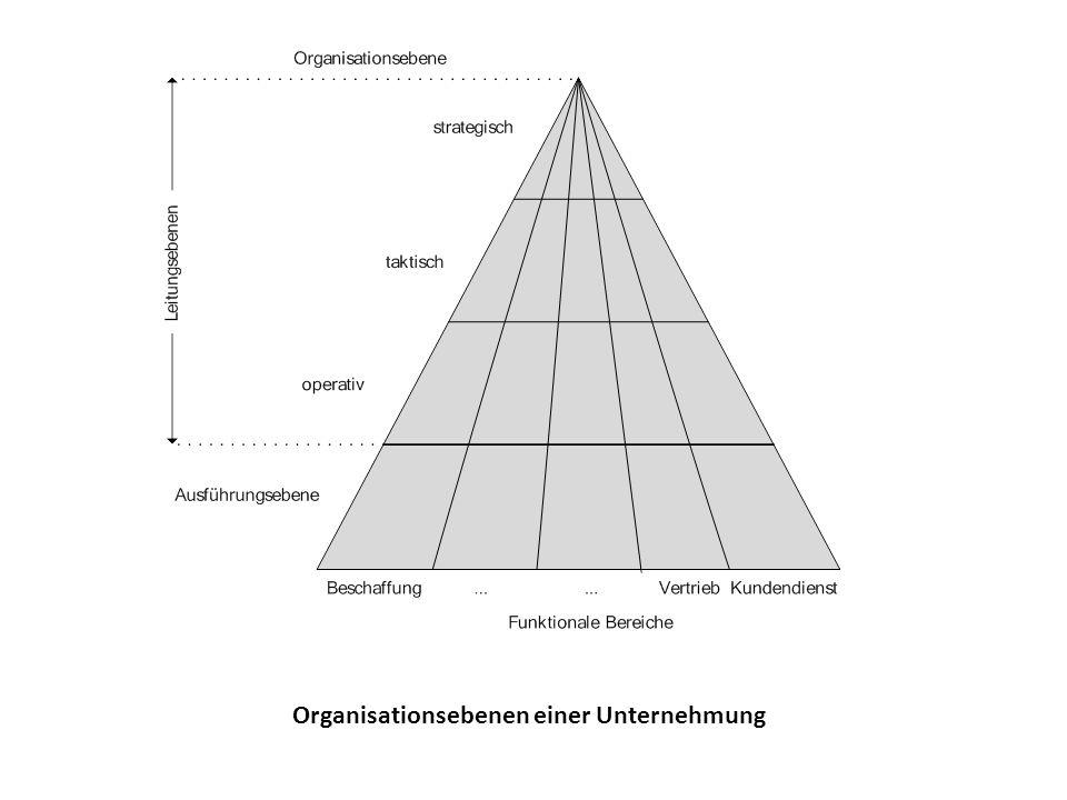 Informationsbedürfnisse der Leitungsebenen