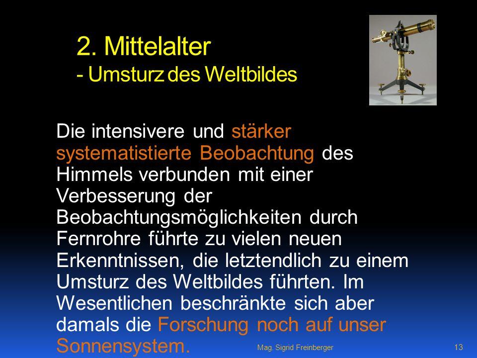 Mag.Sigrid Freinberger 13 2.