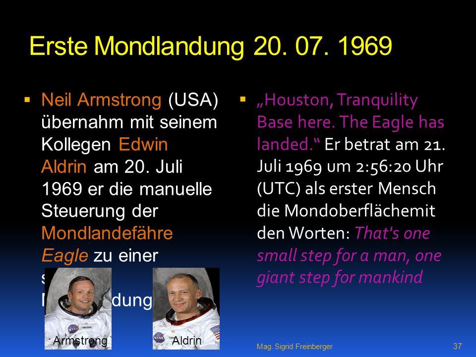 Erste Mondlandung 20.07.