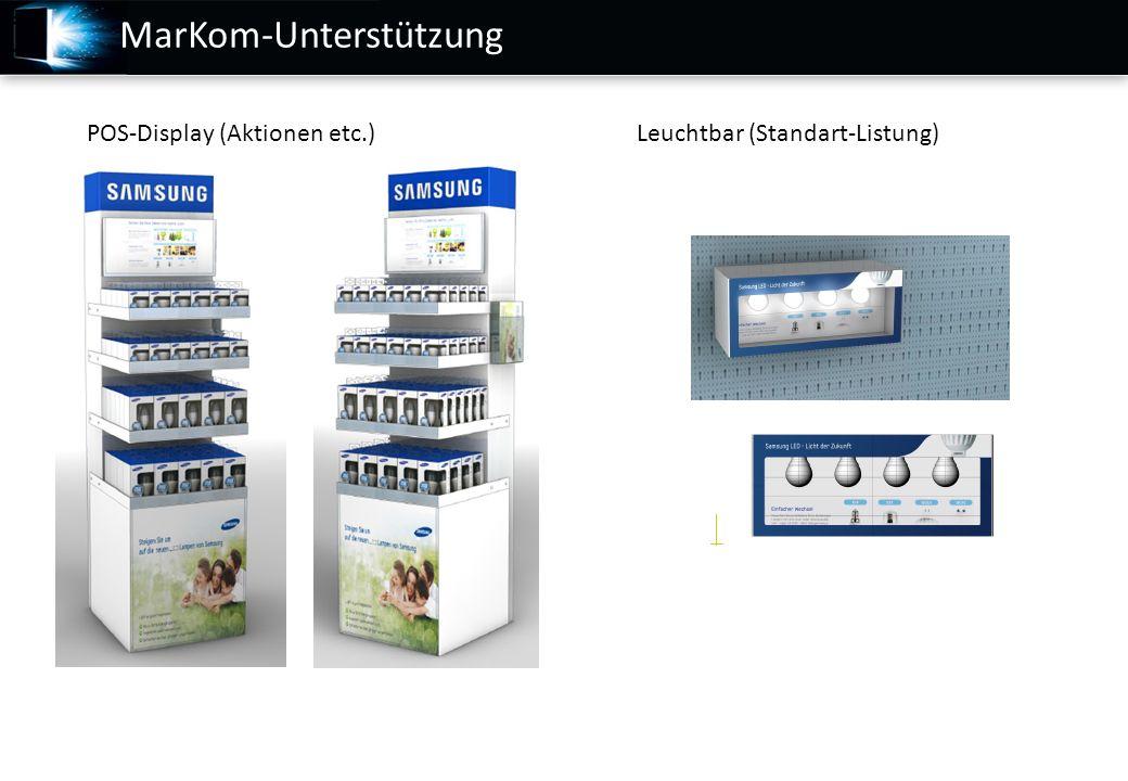MarKom-Unterstützung POS-Display (Aktionen etc.)Leuchtbar (Standart-Listung)