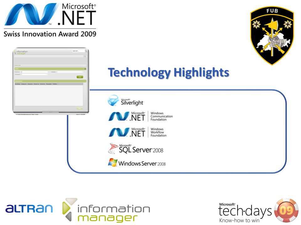 Technology Highlights