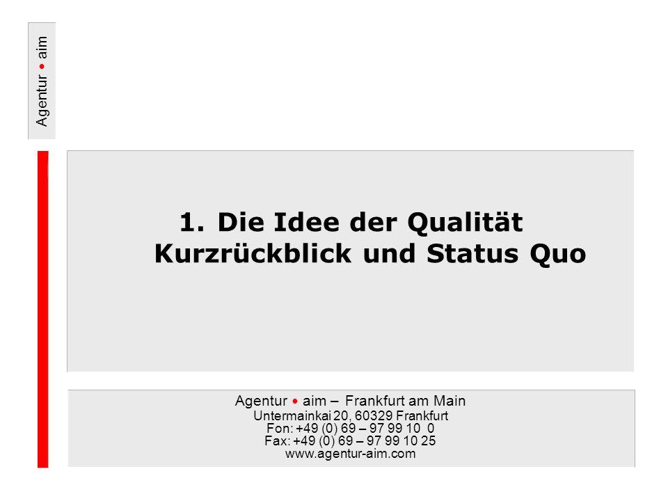 Agentur aim Seite 36 © Agentur - aim, Untermainkai 20, 60329 Frankfurt / Tel.