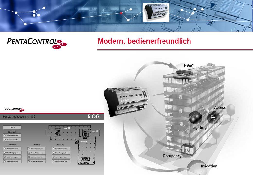 PentaControl AG · März 14 · Folie 17 Modern, bedienerfreundlich