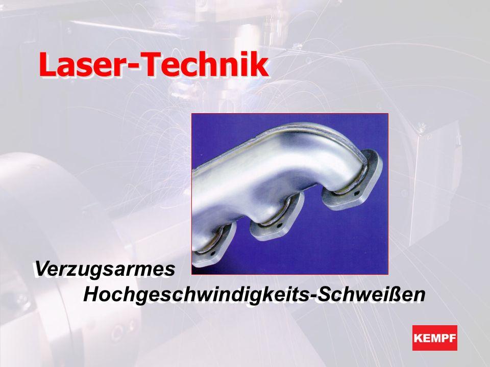 Laser-TechnikLaser-Technik Verzugsarmes Hochgeschwindigkeits-Schweißen