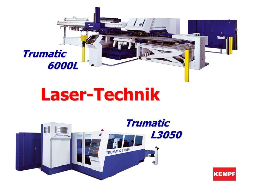 Trumatic 6000L Trumatic L3050 Laser-TechnikLaser-Technik