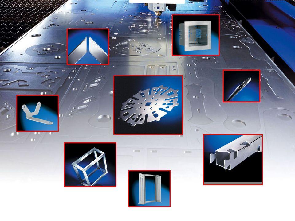 Trumatic L3050 l Überwachung der Prozess-Sicherheit beim Schneiden von Edelstahl in großen Blechdicken l Oxyd- und gratfreie Schnittkanten bei Edelstahl und Aluminiumlegierungen durch Hochdruckschneiden l Eckenbearbeitung: Loopings, Rundungen oder Kühlung im Eckenbereich, je nach Material und Anforderung l Überwachung der Prozess-Sicherheit beim Schneiden von Edelstahl in großen Blechdicken l Oxyd- und gratfreie Schnittkanten bei Edelstahl und Aluminiumlegierungen durch Hochdruckschneiden l Eckenbearbeitung: Loopings, Rundungen oder Kühlung im Eckenbereich, je nach Material und Anforderung L3050LaserTechn.