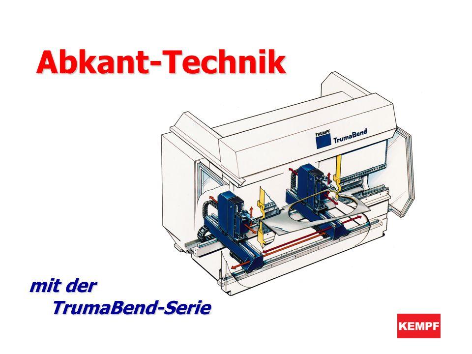 mit der TrumaBend-Serie Abkant-Technik