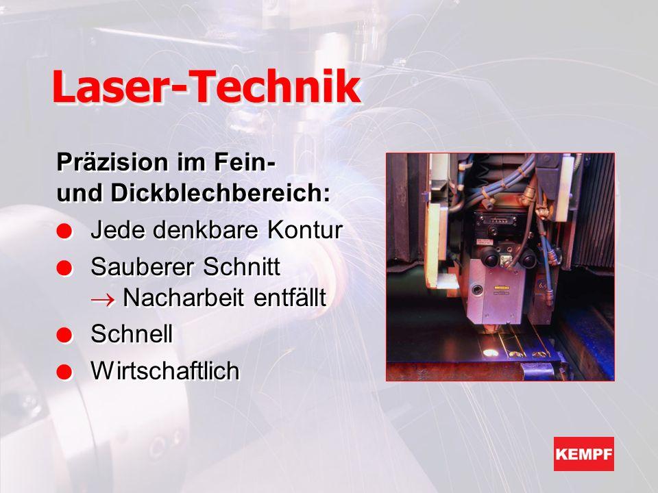 Der Laserstrahl kann noch mehr...