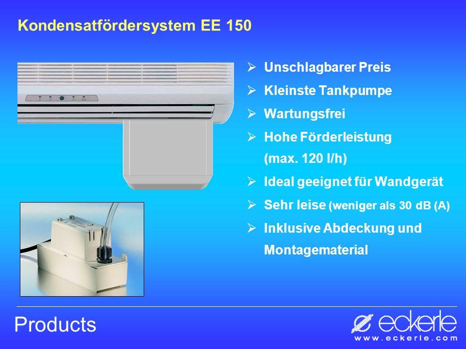Extrem leise (< 30 dB (A)) Kompakte Bauweise Ölgekühlter Motor Geringe Leistungsaufnahme (230 Volt, 65 VA) Hoch belastbarer NC/NO Alarmkontakt Max.