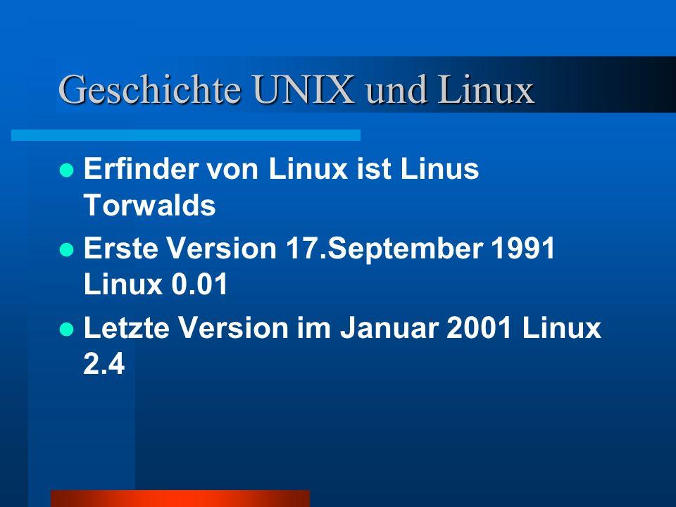 Kurze Beschreibung von UNIX = Ein weit verbreitetes Betriebssystem für Computer aller Größen (Mikrocomputer bis Großrechner); geeignet für Mehrbenutzer– und Mehrprogrammbetrieb.