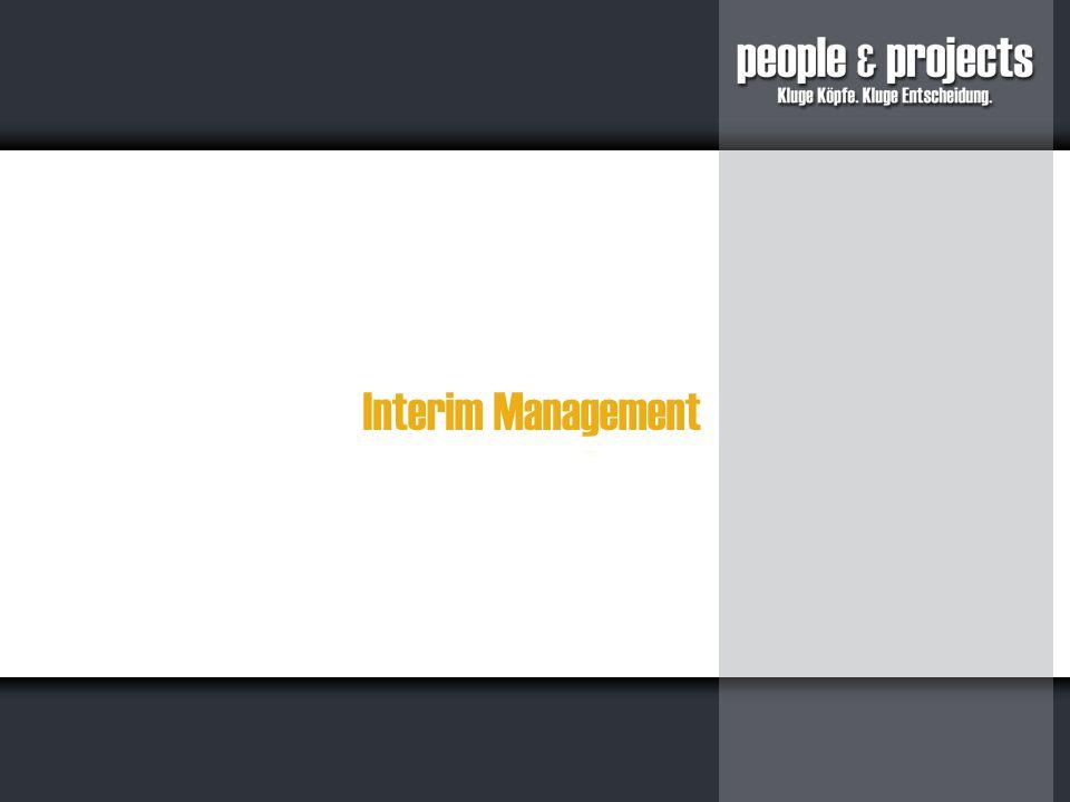 Interim Management: temporäre Top-Level-Lösungen: Jedes Unternehmen sieht sich immer wieder mit neuen Herausforderungen konfrontiert.
