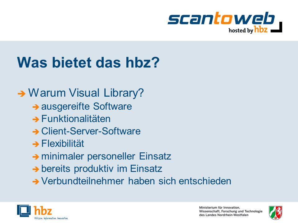 Was bietet das hbz.Warum Visual Library.