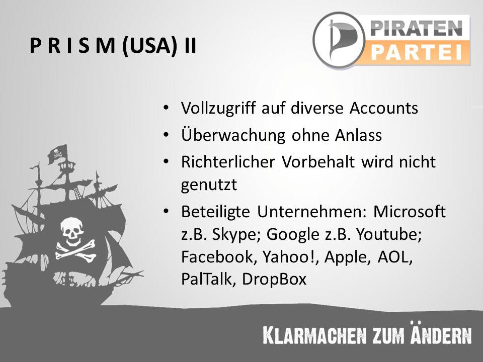 Links und Literatur I http://www.zeit.de/2013/26/interview-noam-chomsky- ueberwachung-usa http://www.zeit.de/2013/26/interview-noam-chomsky- ueberwachung-usa http://www.zeit.de/digital/datenschutz/2013-06/nsa- speichert-verschluesselte-mails http://www.zeit.de/digital/datenschutz/2013-06/nsa- speichert-verschluesselte-mails http://www.zeit.de/digital/datenschutz/2013- 06/wirtschaftsspionage-prism-tempora http://www.zeit.de/digital/datenschutz/2013- 06/wirtschaftsspionage-prism-tempora http://www.washingtonpost.com/wp- srv/special/politics/prism-collection-documents/ http://www.washingtonpost.com/wp- srv/special/politics/prism-collection-documents/ http://www.spiegel.de/politik/deutschland/reaktionen- auf-abhoerprogramm-der-nsa-gegen-eu-vertretungen-a- 908570.html http://www.spiegel.de/politik/deutschland/reaktionen- auf-abhoerprogramm-der-nsa-gegen-eu-vertretungen-a- 908570.html http://www.sueddeutsche.de/bayern/zielfahnder-beim- lka-bis-ins-hinterste-versteck-1.1458871 http://www.sueddeutsche.de/bayern/zielfahnder-beim- lka-bis-ins-hinterste-versteck-1.1458871