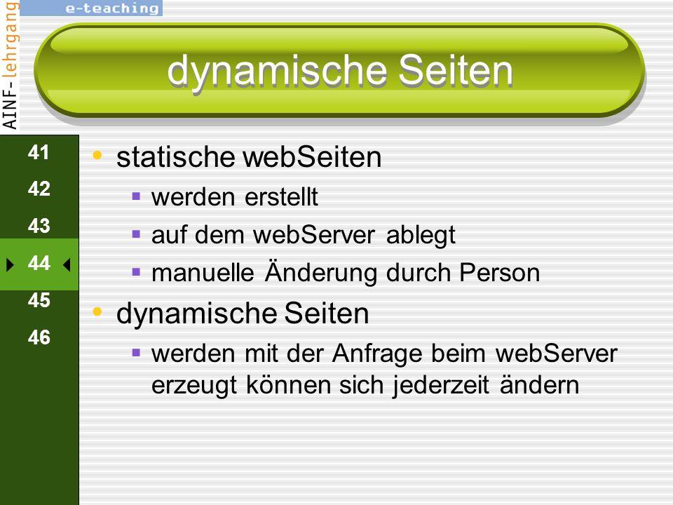 40 41 42 43 44 45 46 Sicherheit passwortgeschützte Seite verlangt Benutzernamen Passwort webServer bietet Administrator an Benutzer mit Passwörtern an