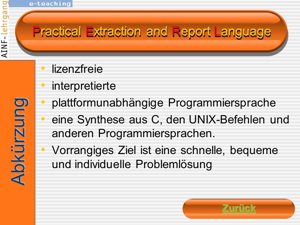 PHP: Hypertext Processor Skriptsprache an C bzw. Perl angelehnten Syntax, hauptsächlich zur Erstellung dynamischer Webseiten Open-Source-Software (liz