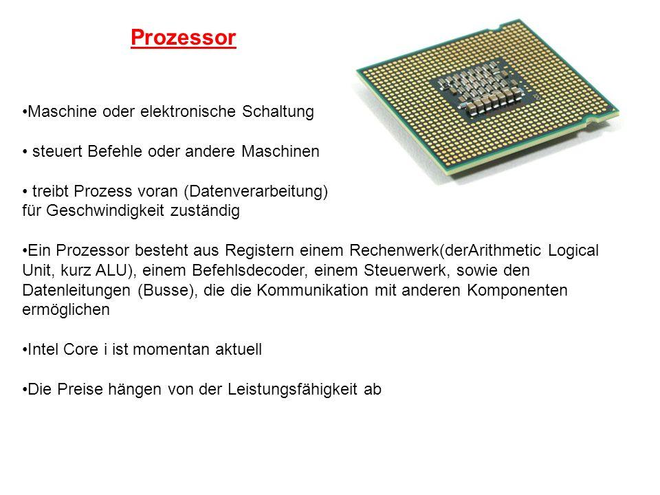 Prozessor Maschine oder elektronische Schaltung steuert Befehle oder andere Maschinen treibt Prozess voran (Datenverarbeitung) für Geschwindigkeit zus