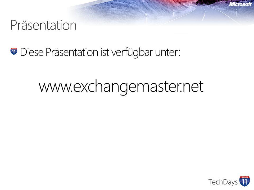Exchange und Firewall