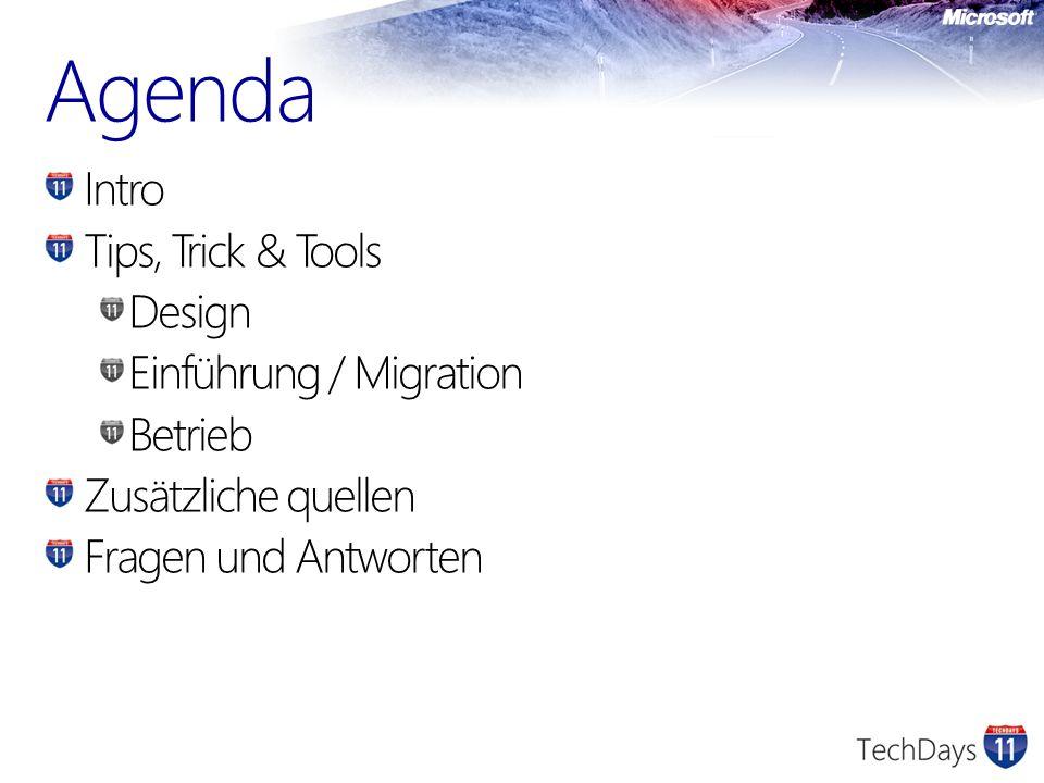 Public Folders ExFolders Neue Version von PFDAVadmin Funktioniert aber nur auf Exchange 2007 und Exchange 2010 http://msexchangeteam.com/files/12/attachments/e ntry456255.aspx 3rd party Priasoft Migration Suite Public Folder Migrator http://www.priasoft.com/