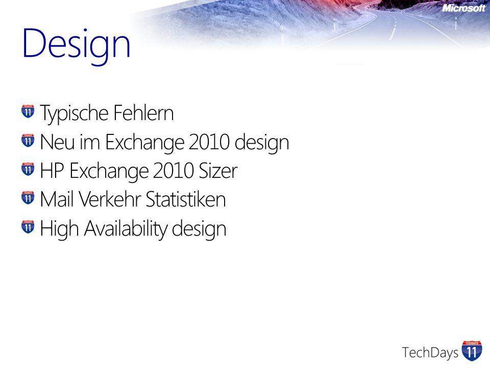Design Lösung B – CAS rolle separat installieren und Windows Load Balancing verwenden