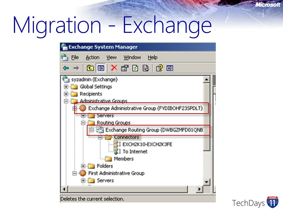 Migration - Exchange