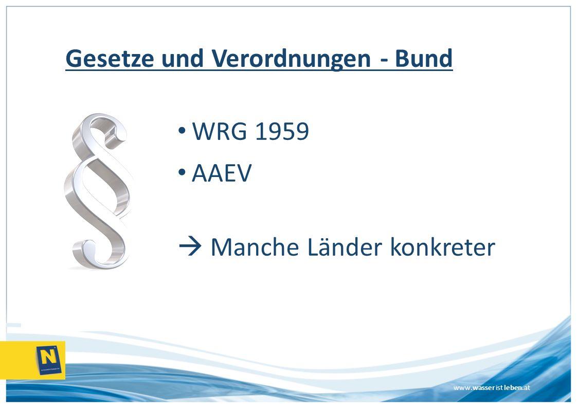 www.wasser ist leben.at Wartung – 2x/a durch Sachkundigen, Typ 3 durch Fachkundigen – 1x/Monat augenscheinliche Kontrolle & betätigen von Notverschluss durch Eigentümer Gelebte Praxis ??.