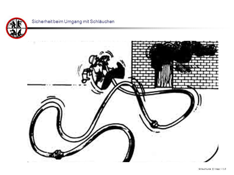 Schlauchkunde © Knapp – V1.5 Sicherheit beim Umgang mit Schläuchen