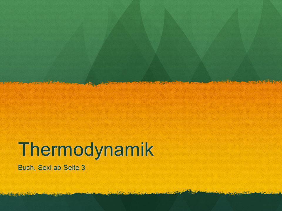 Thermodynamik Buch, Sexl ab Seite 3