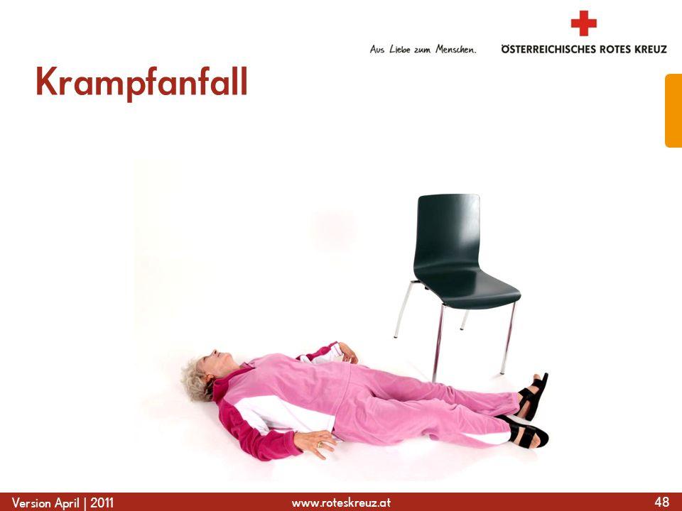 www.roteskreuz.at Version April | 2011 Krampfanfall 48