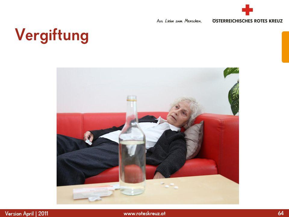 www.roteskreuz.at Version April | 2011 Vergiftung 64