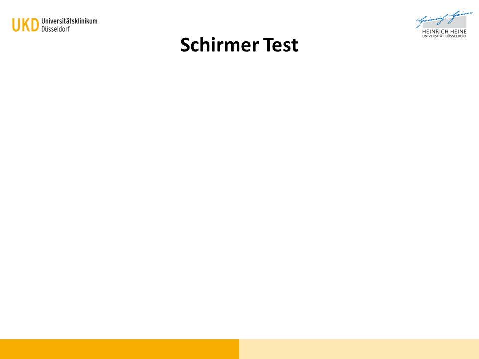 Schirmer Test