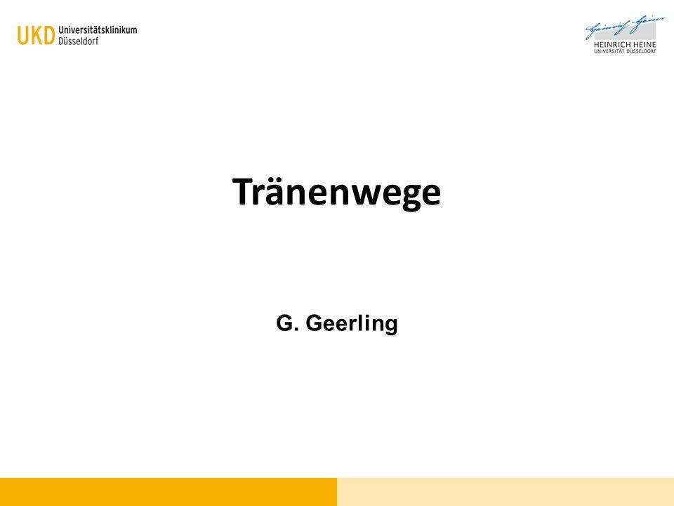 Tränenwege G. Geerling