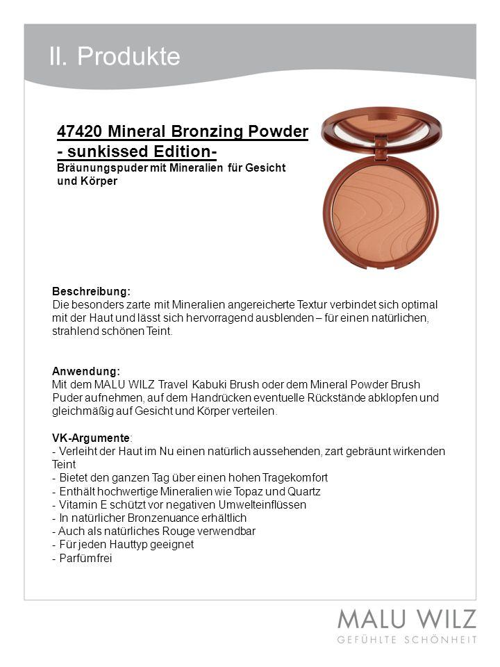 Beschreibung: Die besonders zarte mit Mineralien angereicherte Textur verbindet sich optimal mit der Haut und lässt sich hervorragend ausblenden – für
