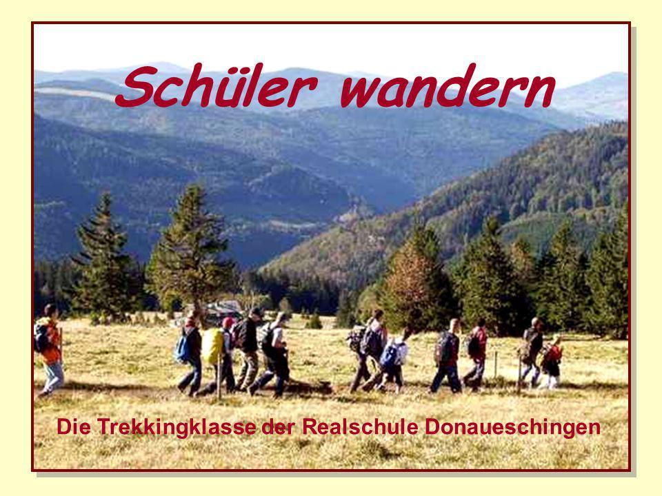 Auf dem Westweg von Pforzheim nach Basel Trekking im Schwarzwald 2010