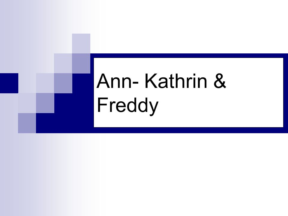 Ann- Kathrin & Freddy