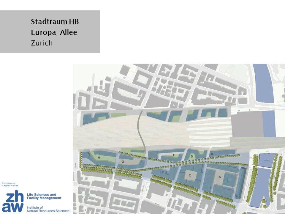Stadtraum HB Europa-Allee Zürich