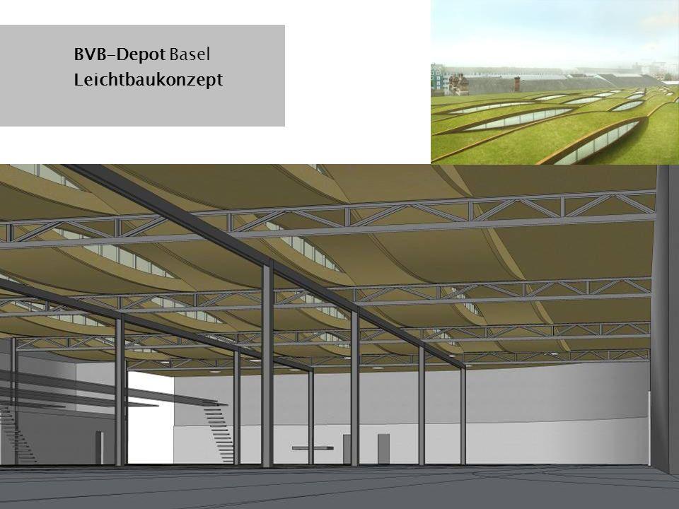 BVB-Depot Basel Leichtbaukonzept