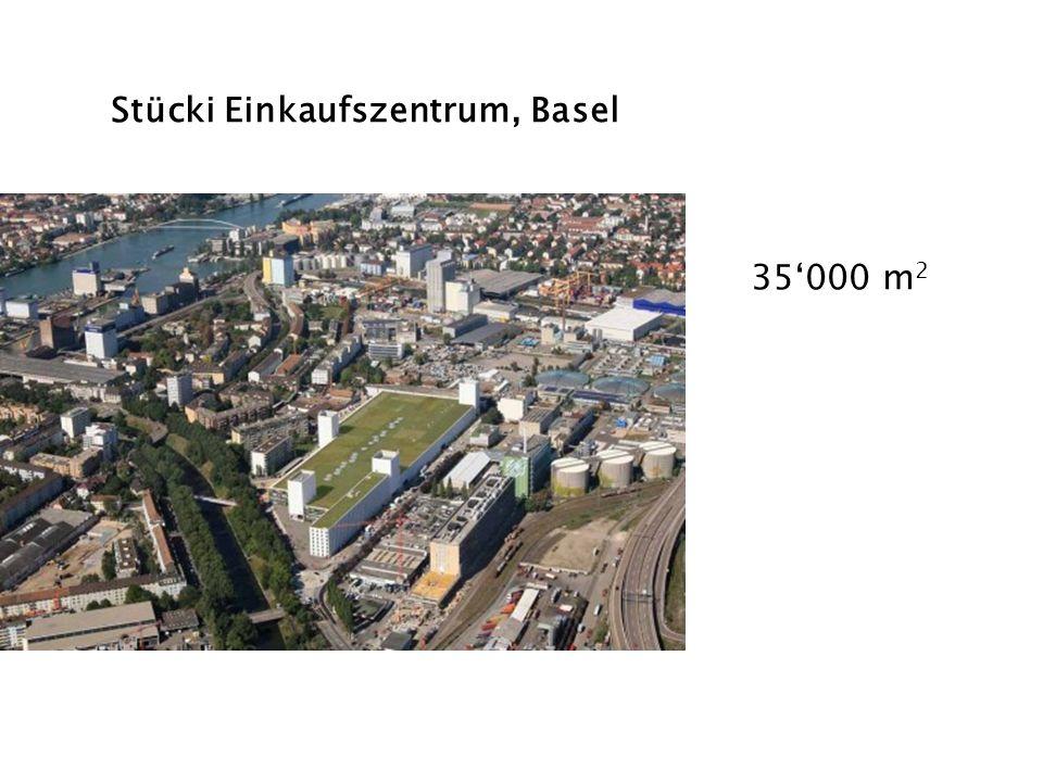 Stücki Einkaufszentrum, Basel 35000 m 2