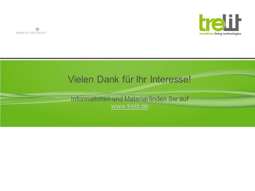 Vielen Dank für Ihr Interesse! Informationen und Material finden Sie auf www.trelit.de