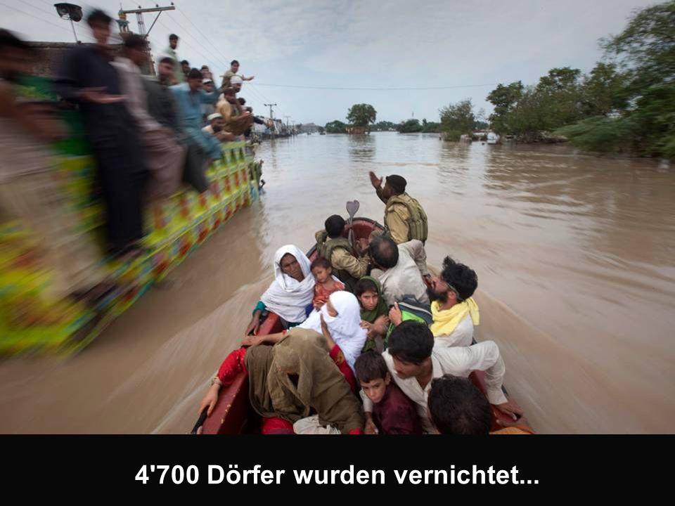 4 700 Dörfer wurden vernichtet...