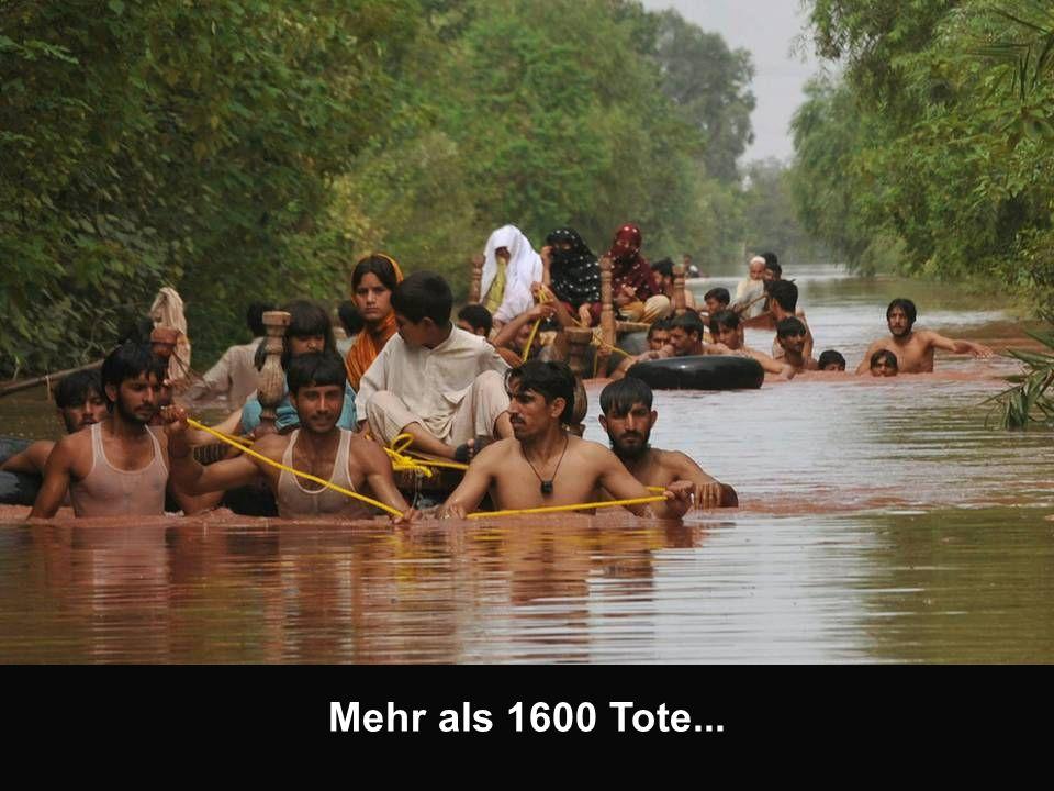 Mehr als 1600 Tote...