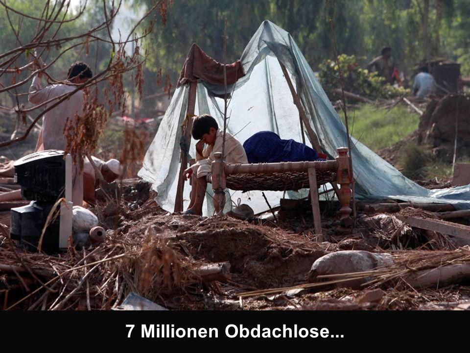 7 Millionen Obdachlose...