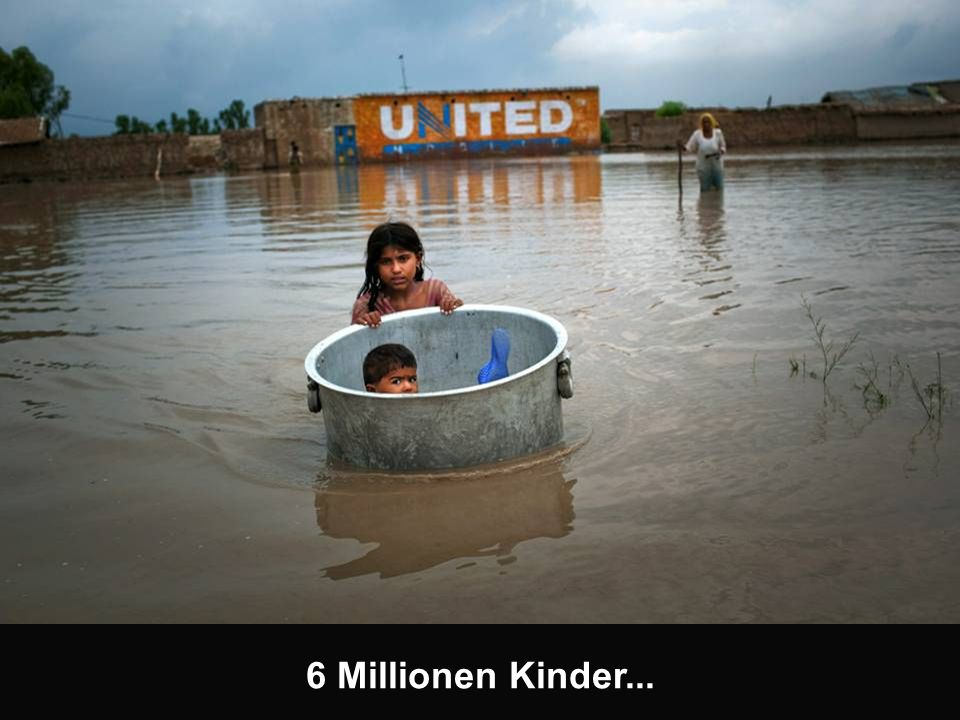 6 Millionen Kinder betroffen...