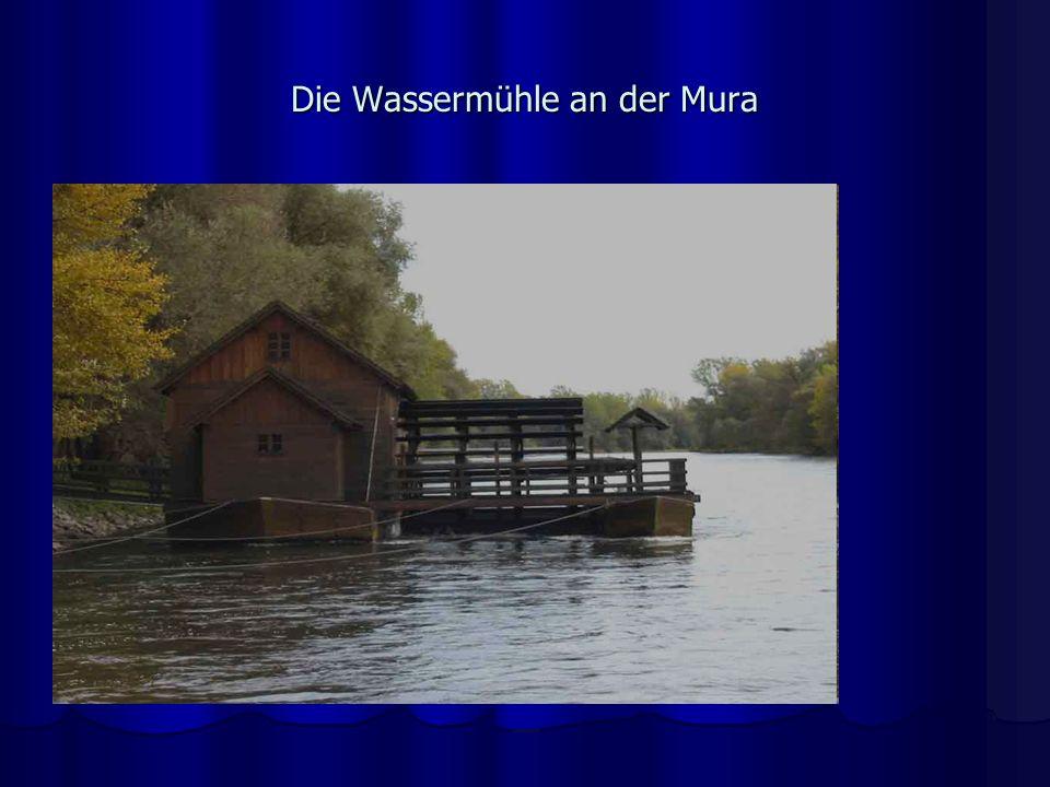 Die Wassermühle an der Mura